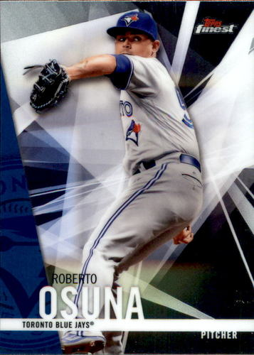 Photo of 2017 Finest #98 Roberto Osuna