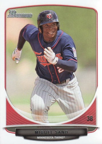 Photo of 2013 Bowman Draft Top Prospects #TP45 Miguel Sano Pre-Rookie Card