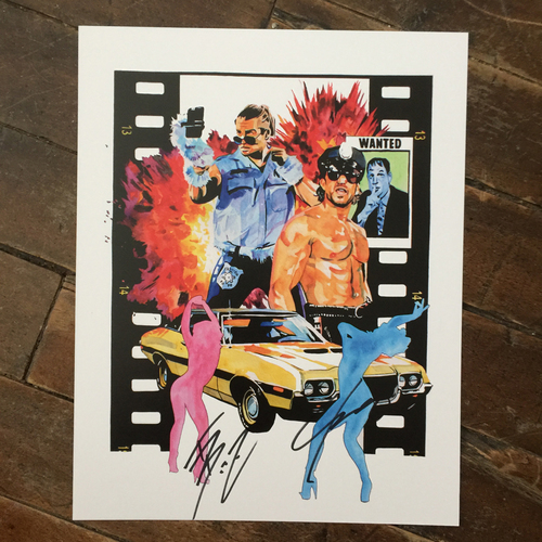 Breezango SIGNED 11 x 14 Rob Schamberger Print