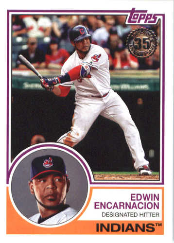 Photo of 2018 Topps '83 Topps #8365 Edwin Encarnacion