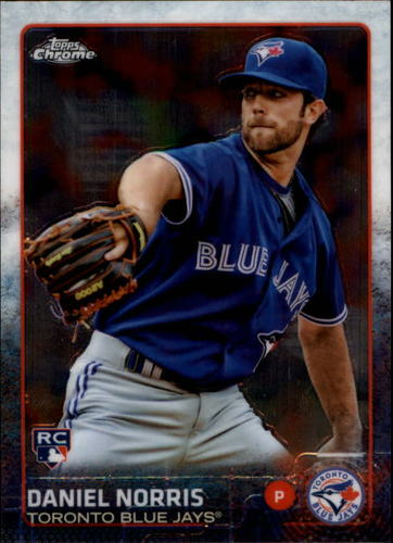 Photo of 2015 Topps Chrome #87 Daniel Norris RC