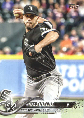Photo of 2018 Topps #386 James Shields