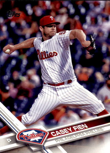 Photo of 2017 Topps Update #US5 Casey Fien RC