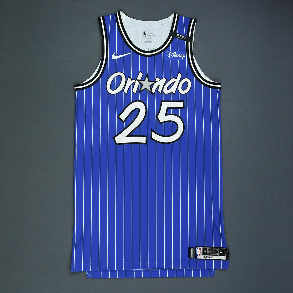 Wesley Iwundu - Orlando Magic - Game-Worn Classic Edition 1994-98 Alternate Road Jersey - Worn in 4 Games - 2018-19 Season