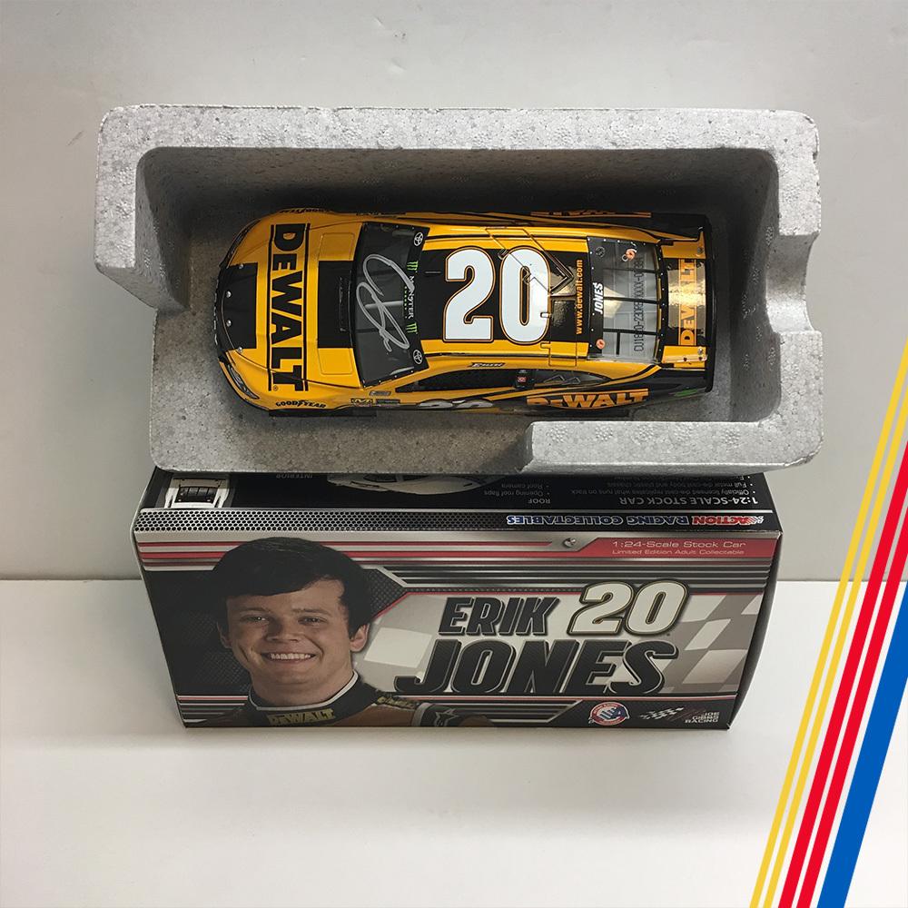 NASCAR's Eric Jones autographed DeWalt diecast!