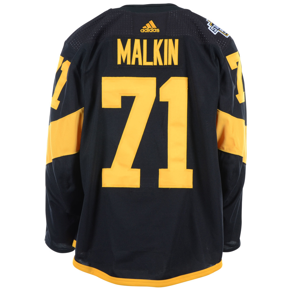 306221d0291 Evgeni Malkin Pittsburgh Penguins Game-Worn 2019 NHL Stadium Series Jersey