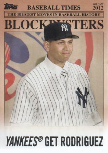 Photo of 2012 Topps Update Blockbusters #BB25 Alex Rodriguez