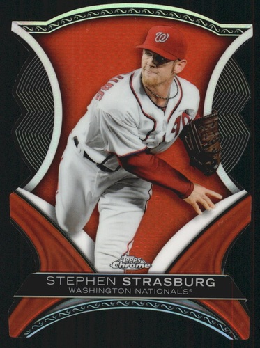 Photo of 2012 Topps Chrome Dynamic Die Cuts #SS Stephen Strasburg