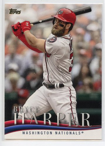 Photo of 2018 Topps Update Bryce Harper Highlights #BH16 Bryce Harper