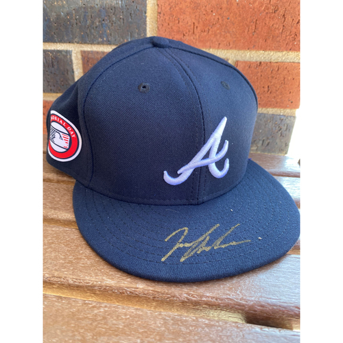 Photo of Ian Anderson MLB Authenticated Autographed Hat