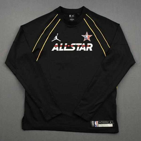 Image of Chris Paul - Game-Worn 2021 NBA All-Star Long-Sleeved Shooting Shirt