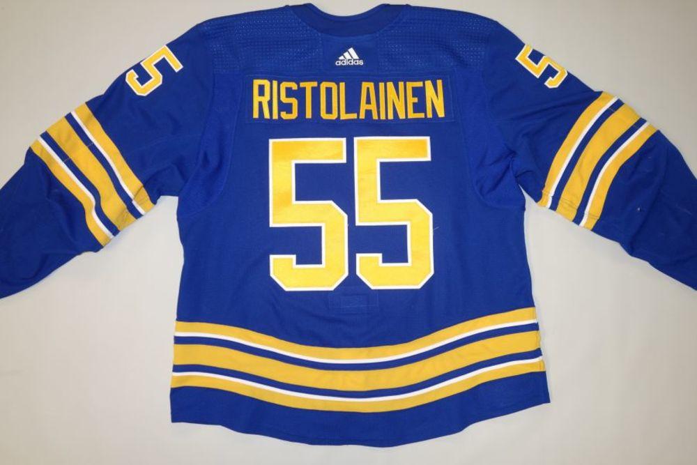 Rasmus Ristolainen 2020-21 Buffalo Sabres Set 1 Home Jersey
