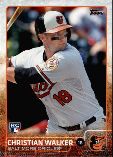 Photo of 2015 Topps #549 Christian Walker RC