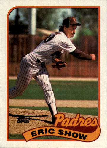 Photo of 1989 Topps #427 Eric Show