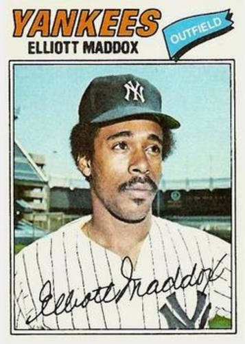 Photo of 1977 Topps #332 Elliott Maddox