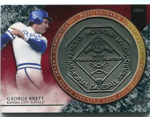 Photo of 2017 Topps Update MVP Award Relics #MVPRGB George Brett