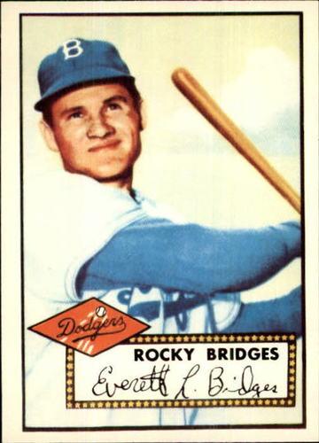 Photo of 1983 Topps 1952 Reprint #239 Rocky Bridges