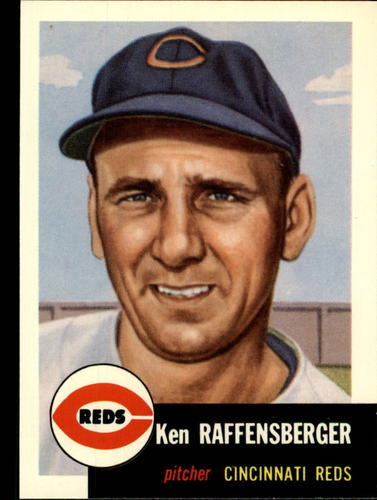 Photo of 1991 Topps Archives 1953 #276 Ken Raffensberger