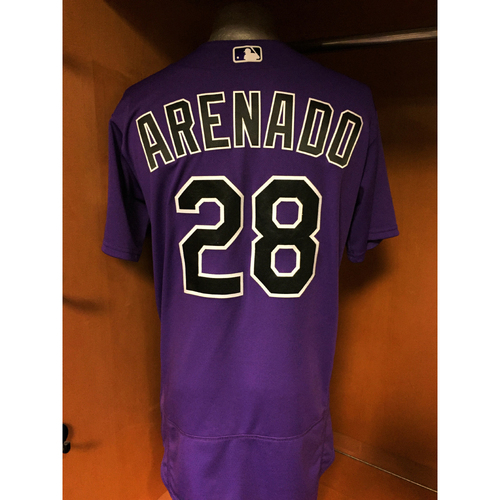 Photo of Colorado Rockies Nolan Arenado Game-Used Jersey