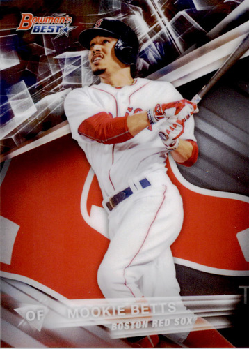 Photo of 2016 Bowman's Best #32 Mookie Betts