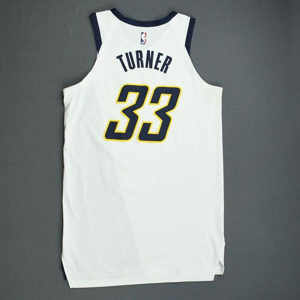 99ca25b0c1f Myles Turner - Indiana Pacers - Game-Worn Earned Edition Jersey - 2019  Playoffs. Current Bid   250.00