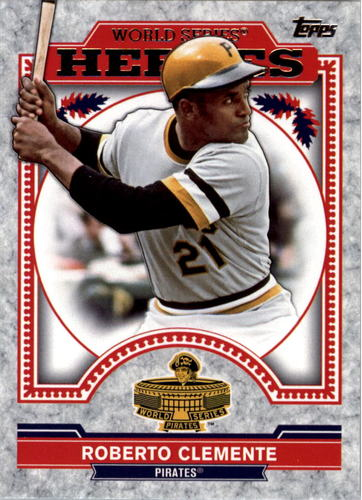 Photo of 2014 Topps Update World Series Heroes #WSHRC Roberto Clemente