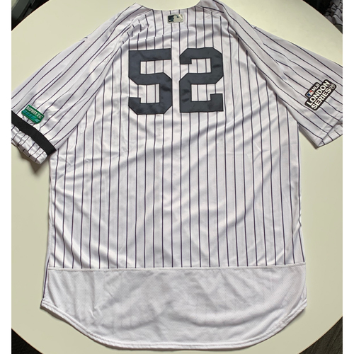 2019 London Series - Game-Used Jersey - CC Sabathia, New York Yankees vs Boston Red Sox - 6/29/19