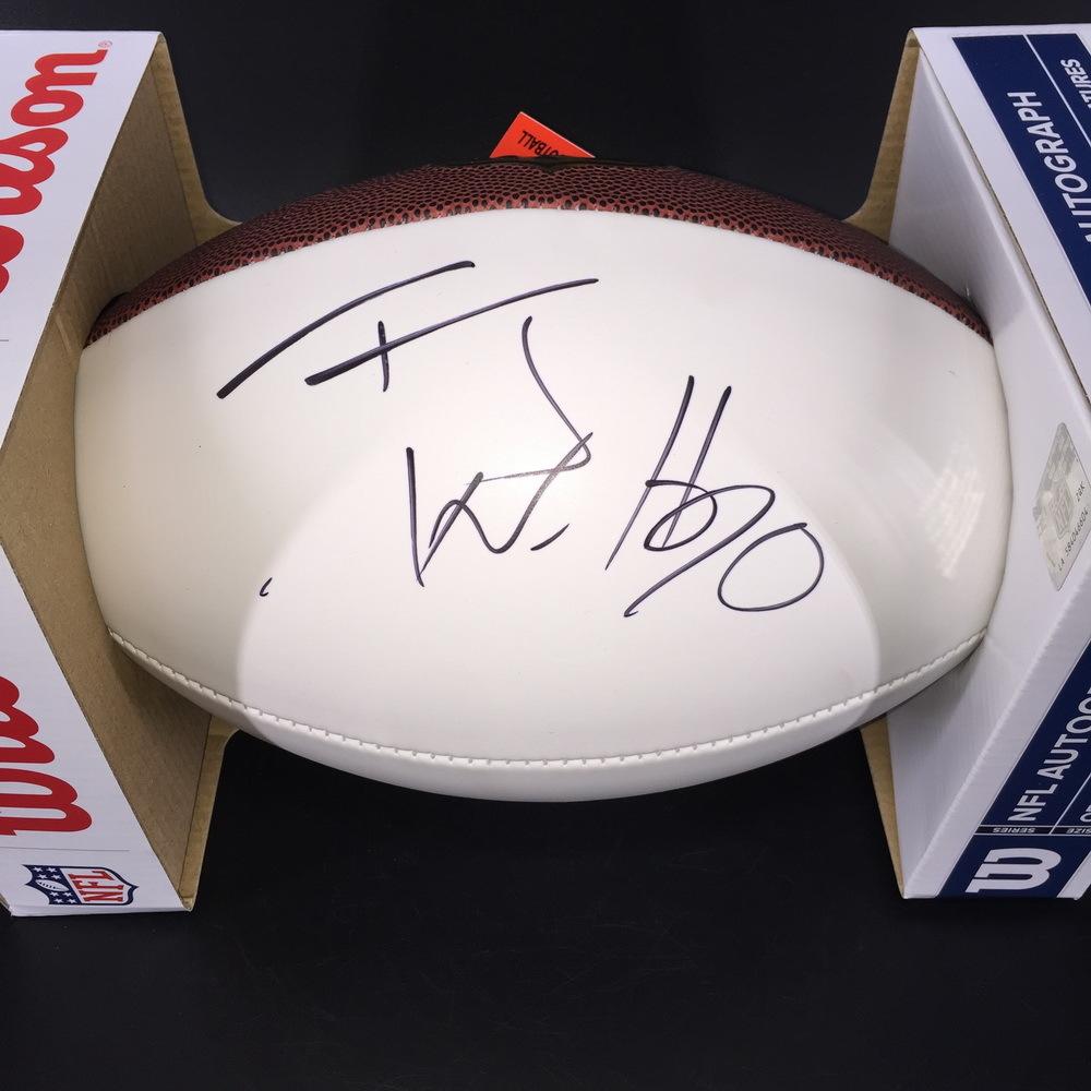 NFL - Steelers TJ Watt Signed Panel Ball