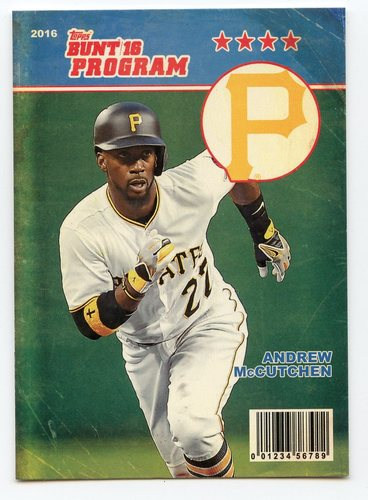 Photo of 2016 Topps Bunt Programs #P6 Andrew McCutchen