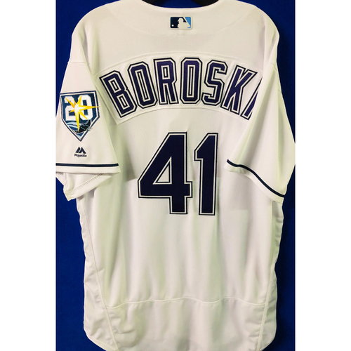 Team Issued Devil Rays Jerseys: Stan Boroski (size 48)