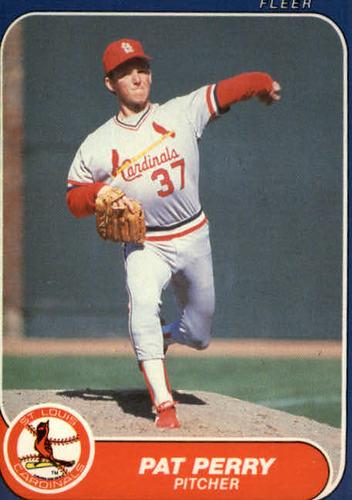 Photo of 1986 Fleer Update #89 Pat Perry