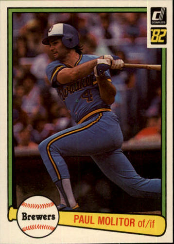 Photo of 1982 Donruss #78 Paul Molitor