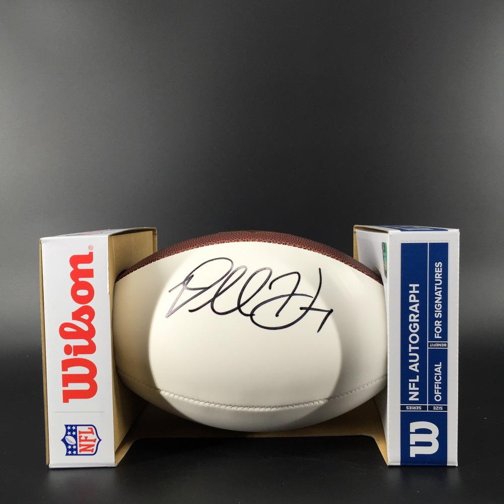 NFL - Rams Darrell Henderson Signed Panel Ball