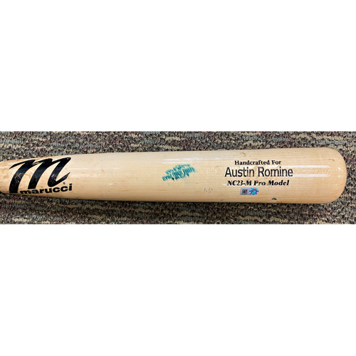 Photo of Austin Romine Detroit Tigers Game-Used Cracked Bat (MLB AUTHENTICATED)