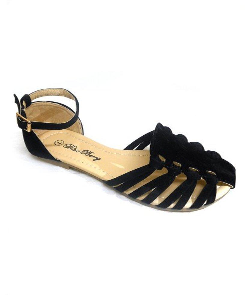 Photo of Closed-Toe Spot Sandal