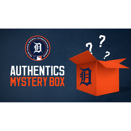 Photo of Detroit Tigers Mystery Box: Two (2) Comerica Park Lamp Post Banners (MLB AUTHENTICATED)