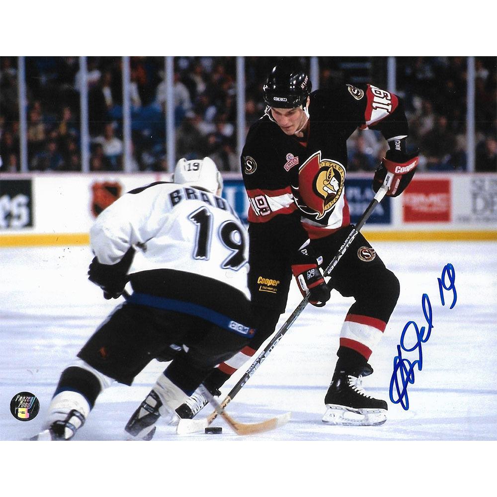 Alexei Yashin Autographed Ottawa Senators 8X10 Photo