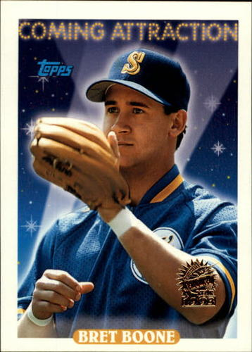 Photo of 1993 Topps Inaugural Marlins #808 Bret Boone