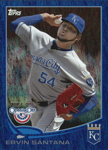 Photo of 2012 Topps Opening Day Blue #201 Jose Reyes