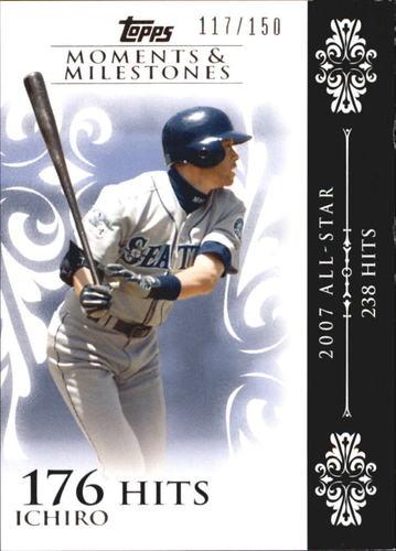 Photo of 2008 Topps Moments and Milestones #63-176 Ichiro Suzuki