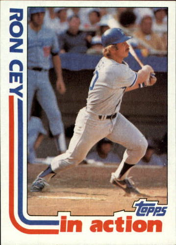 Photo of 1982 Topps #411 Ron Cey IA