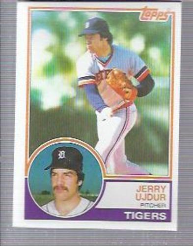 Photo of 1983 Topps #174 Jerry Ujdur