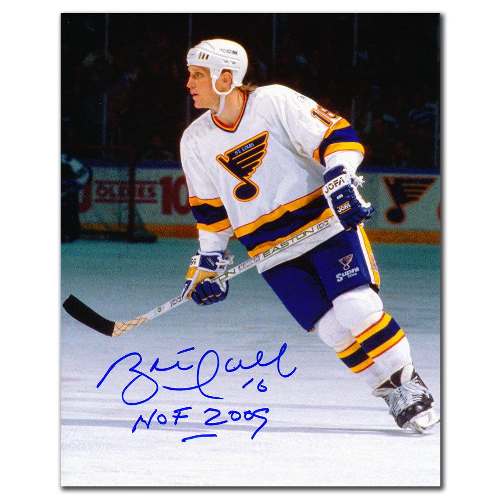 Brett Hull St. Louis Blues SNIPER Autographed 8x10