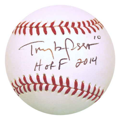 Photo of Cardinals Authentics: Tony LaRussa HOF 2014 Inscribed Autographed Baseball