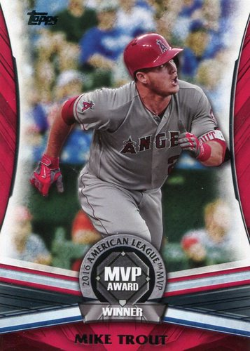 Photo of 2017 Topps Update MVP Award #MVP1 Mike Trout