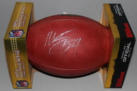 CHARGERS - MELVIN INGRAM SIGNED AUTHENTIC FOOTBALL
