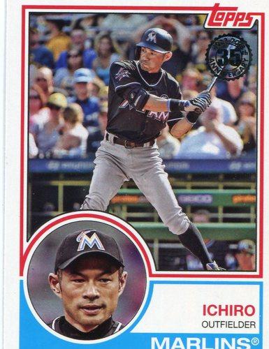 Photo of 2018 Topps '83 Topps #8367 Ichiro