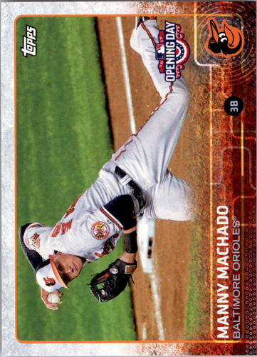 Photo of 2015 Topps Opening Day #175 Manny Machado
