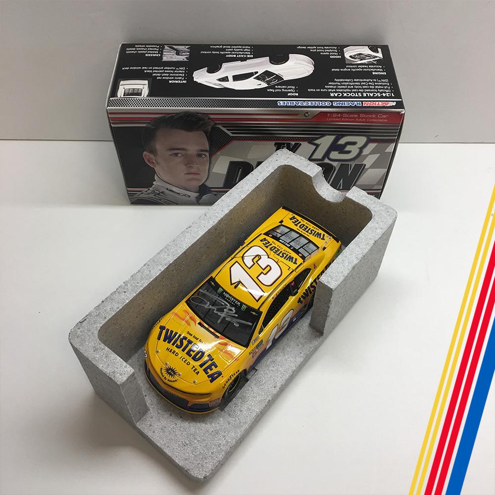 NASCAR's Ty Dillon autographed Twisted Tea diecast!