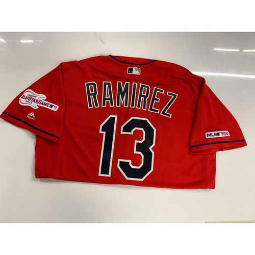 Photo of Hanley Ramirez 2019 Team Issued Alternate Home Jersey with ASG Patch